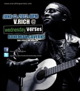 V. Rich at Wednesday Verses